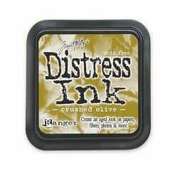 Tim Holtz - Distress Ink Pad - Chrushed Olive