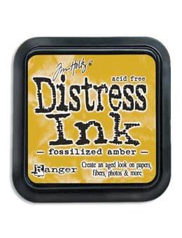 Tim Holtz - Distress Ink Pad - Fossilised Amber