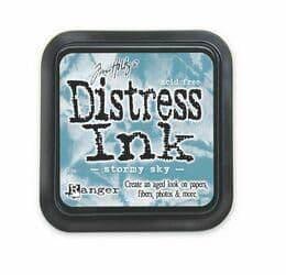 Tim Holtz - Distress Ink Pad - Stormy Sky