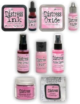 Tim Holtz Distress - Kitsch Flamingo Collection
