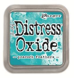 Tim Holtz - Distress Oxide Ink Pad - Peacock Feathers