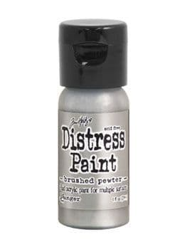 Tim Holtz - Distress Paint - Brushed Pewter