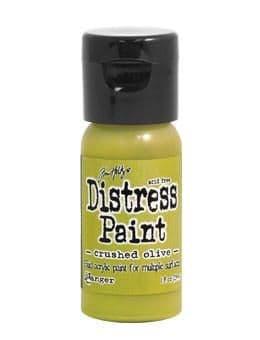 Tim Holtz - Distress Paint - Crushed Olive