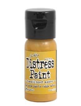 Tim Holtz - Distress Paint - Fossilised Amber