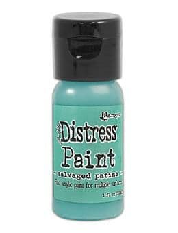 Tim Holtz - Distress Paint - Salvaged Patina