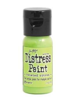 Tim Holtz - Distress Paint - Twisted Citron
