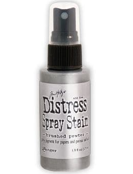 Tim Holtz - Distress Spray Stain - Brushed Pewter