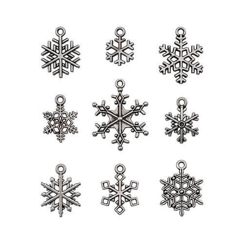 Tim Holtz - idea-ology - Adornments Christmas Snowflakes