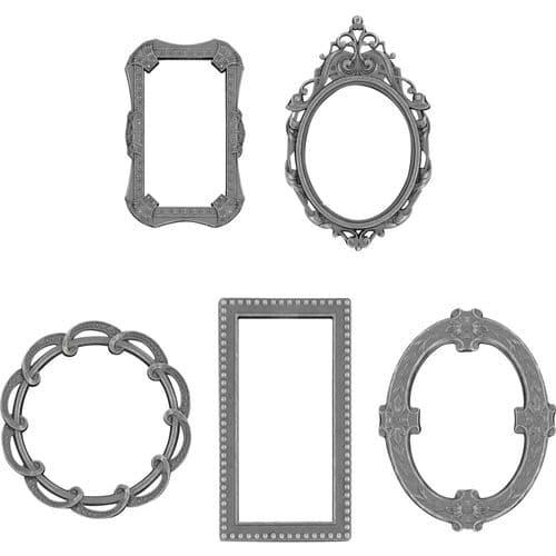 Tim Holtz - Idea-ology - Adornments Deco Frames