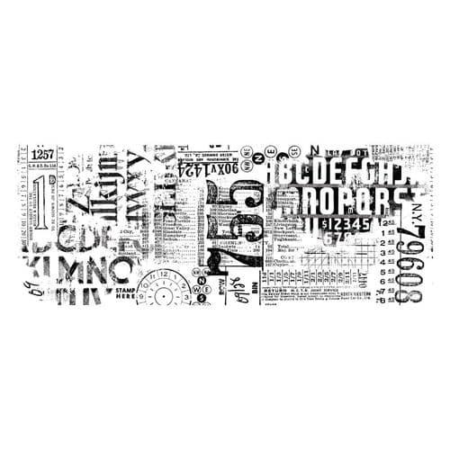 Tim Holtz - Idea-ology - Collage Paper TypeSet