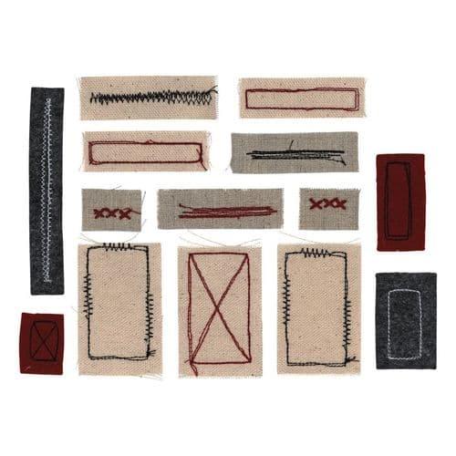Tim Holtz - Idea-ology - Stitched Scraps