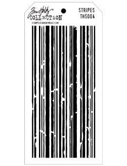 Tim Holtz - Layering Stencil - #004 Stripes
