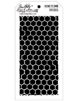 Tim Holtz - Layering Stencil - #005 Honeycomb
