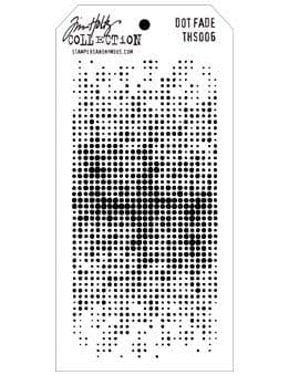 Tim Holtz - Layering Stencil - #006 Dot Fade