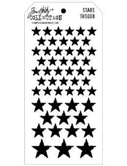 Tim Holtz - Layering Stencil - #008 Stars