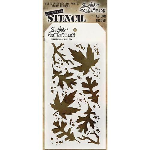 Tim Holtz - Layering Stencil - #060 Autumn
