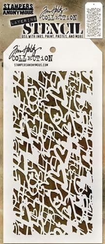 Tim Holtz - Layering Stencil - #073 Heartstruck