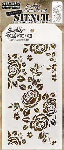 Tim Holtz - Layering Stencil - #075 Roses