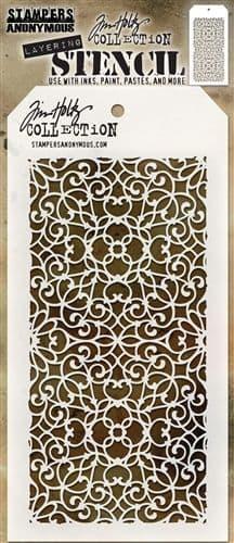 Tim Holtz - Layering Stencil - #076 Ornate