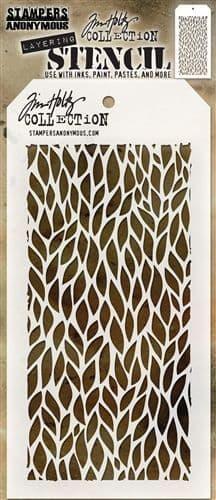 Tim Holtz - Layering Stencil - #078 Leafy