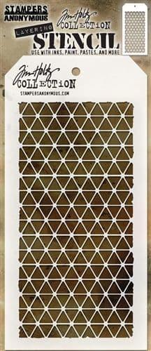 Tim Holtz - Layering Stencil - #081 Diamonds
