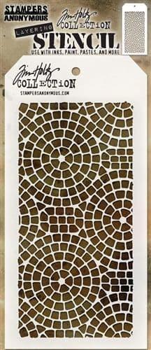 Tim Holtz - Layering Stencil - #084 Mosaic