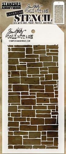 Tim Holtz - Layering Stencil - #085 Slate