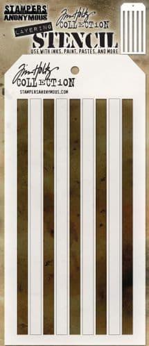 Tim Holtz - Layering Stencil - #108 Shifter Stripes