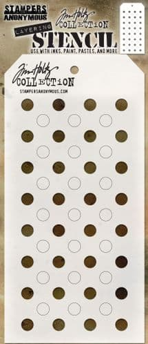 Tim Holtz - Layering Stencil - #109 Shifter Dots