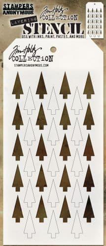 Tim Holtz - Layering Stencil - #113 Shifter Tree