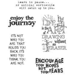 Tim Holtz - Rubber Stamps - CMS078 - Just Thoughts