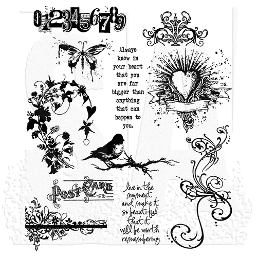 Tim Holtz - Rubber Stamps - CMS086 - Urban Chic