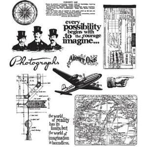 Tim Holtz - Rubber Stamps - CMS124
