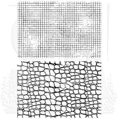 Tim Holtz - Rubber Stamps - CMS185 - Graph & Croc