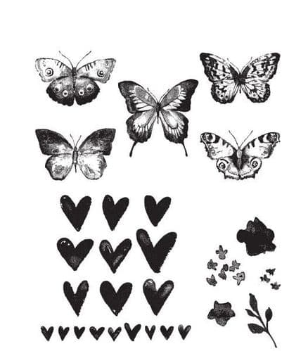Tim Holtz - Rubber Stamps - CMS217 - Watercolour