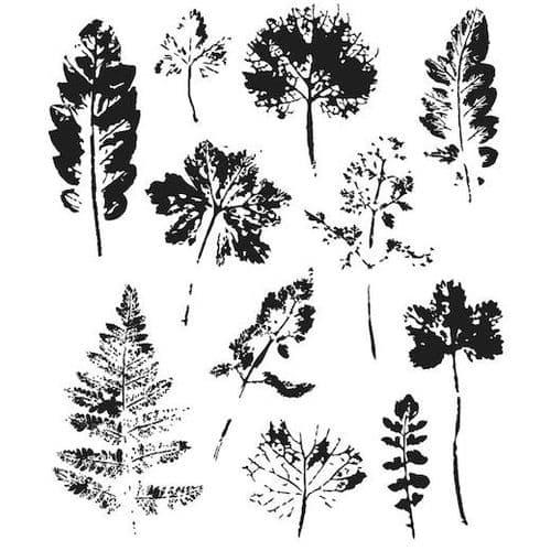 Tim Holtz - Rubber Stamps - CMS273 - Leaf Prints