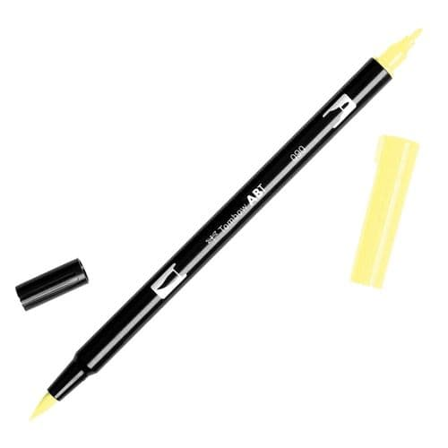 Tombow - ABT Dual Brush Pen - 090 Lemon Cream