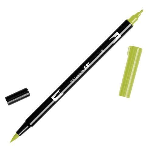 Tombow - ABT Dual Brush Pen - 126 Light Olive
