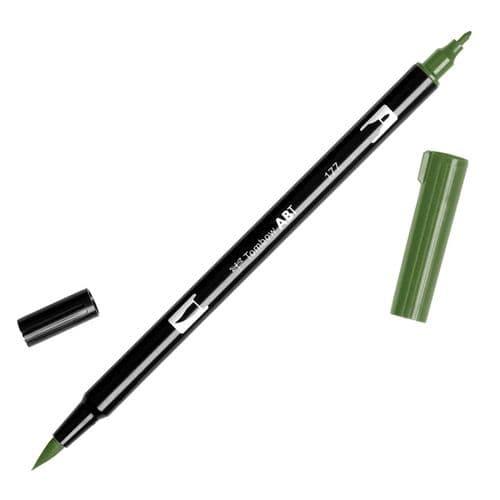 Tombow - ABT Dual Brush Pen - 177 Dark Jade