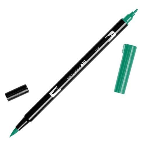 Tombow - ABT Dual Brush Pen - 277 Dark Green