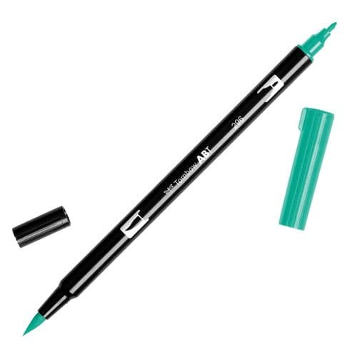 Tombow - ABT Dual Brush Pen - 296 Green