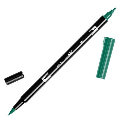 Tombow - ABT Dual Brush Pen - 346 Sea Green