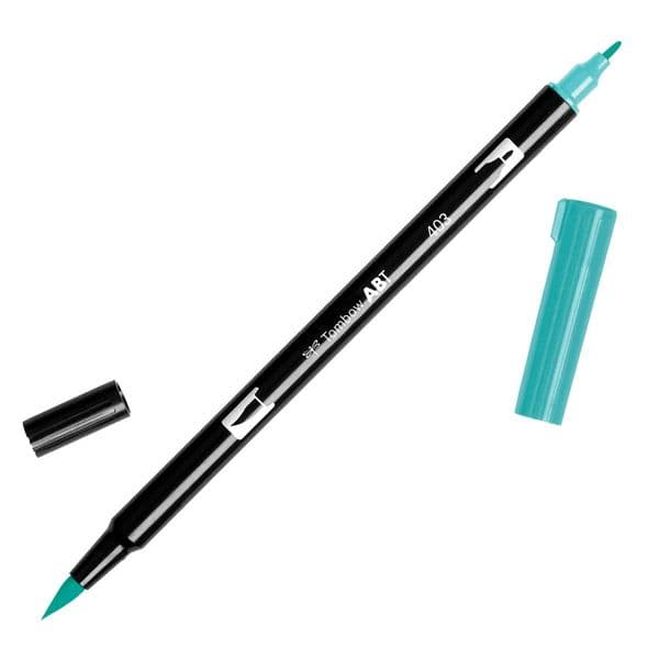 Tombow - ABT Dual Brush Pen - 403 Bright Blue