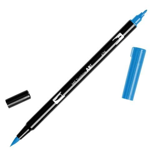 Tombow - ABT Dual Brush Pen - 476 Cyan