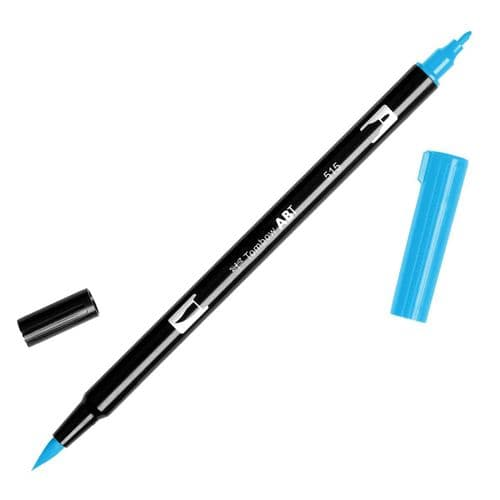 Tombow - ABT Dual Brush Pen - 515 Light Blue