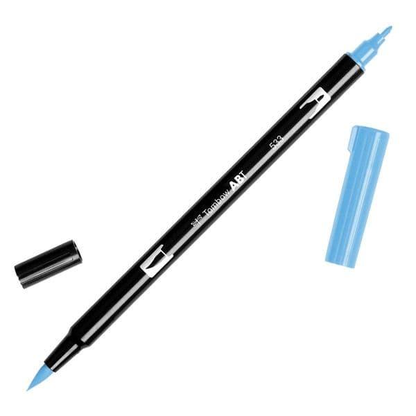 Tombow - ABT Dual Brush Pen - 533 Peacock Blue