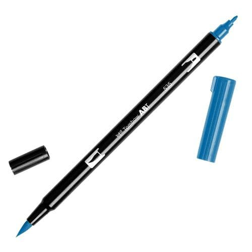 Tombow - ABT Dual Brush Pen - 535 Cobalt Blue