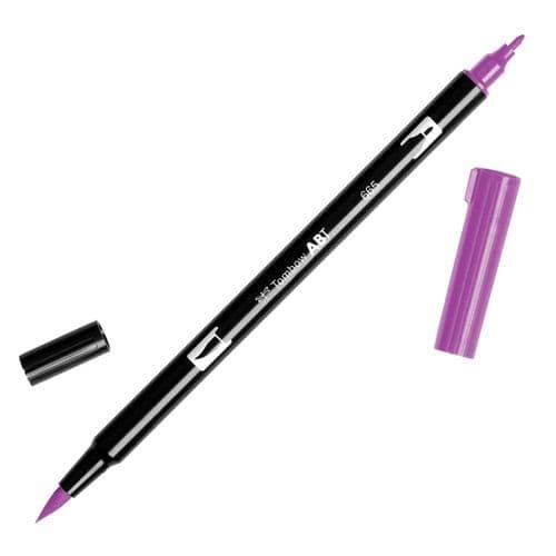 Tombow - ABT Dual Brush Pen - 665 Purple