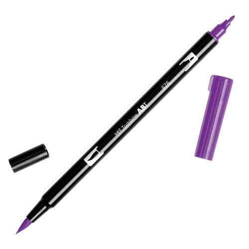 Tombow - ABT Dual Brush Pen - 676 Royal Purple