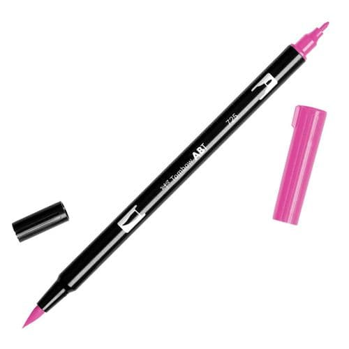 Tombow - ABT Dual Brush Pen - 725 Rhodamine Red